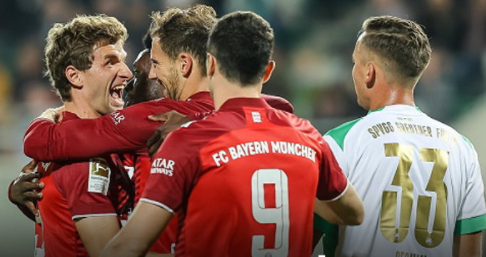 Bayern Munich defeated Greuther Furth 3-1